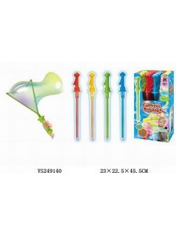 Мыльные пузыри  в упаковке 16 шт цвета разные 45х22х23 см