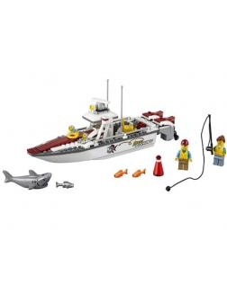 Конструктор Bl «Рыболовный катер» 10646 (City 60147) / 160 деталей