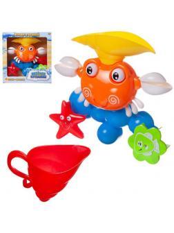 Игрушка для ванной Abtoys Веселое купание. Краб-мельница для ванны