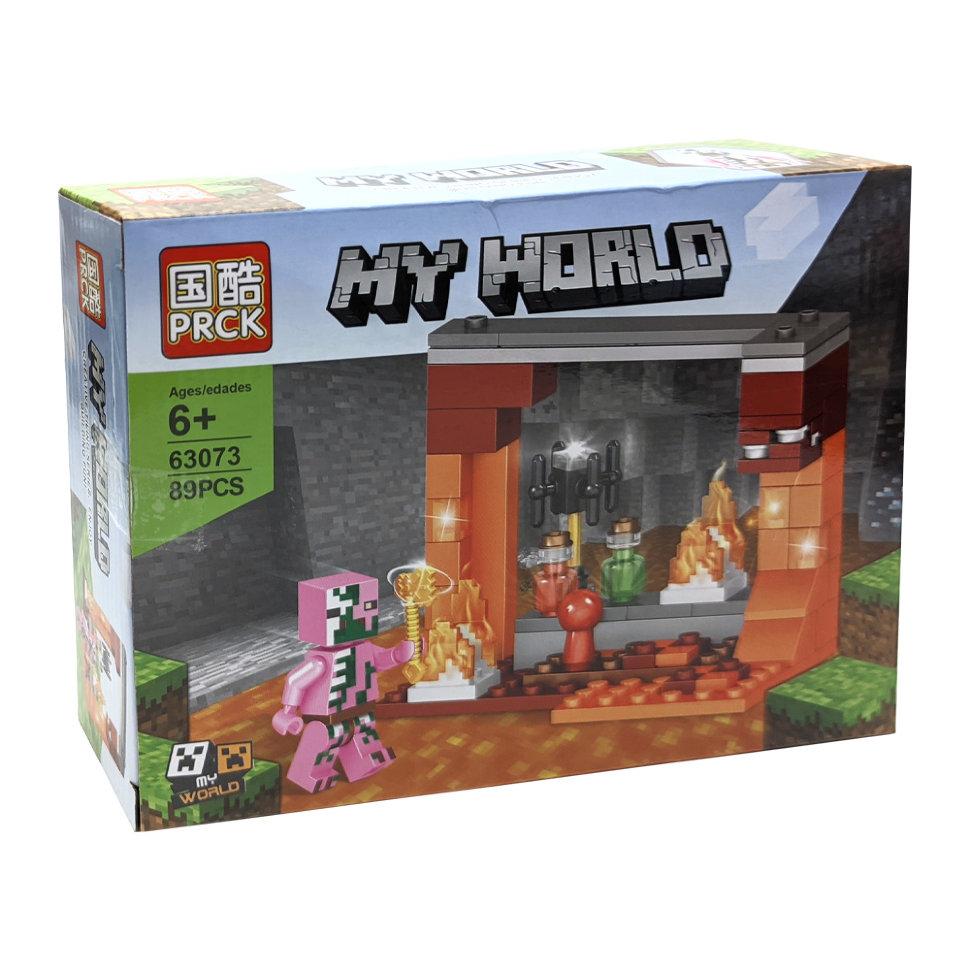 Конструктор PRCK «Грибной остров» 63073 (Minecraft) 4 шт.
