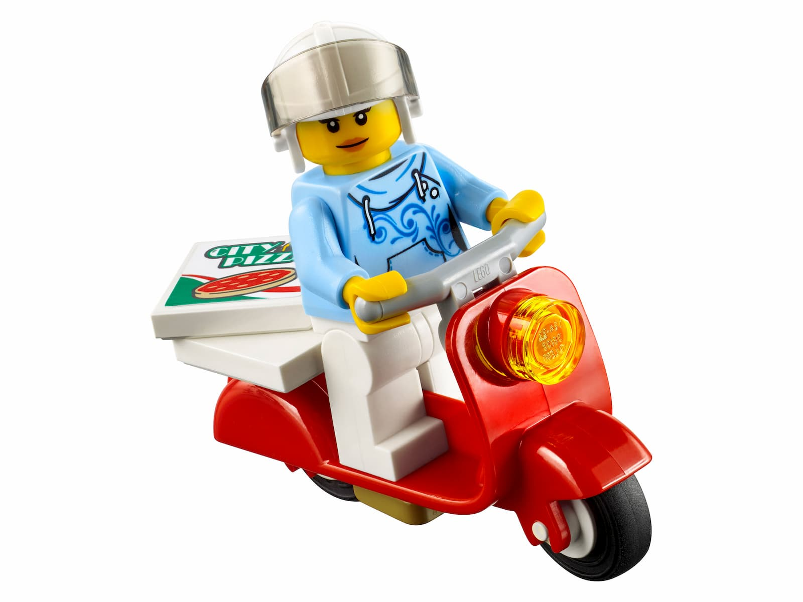 Конструктор Bl «Фургон-пиццерия» 10648 (City 60150) / 261 деталь