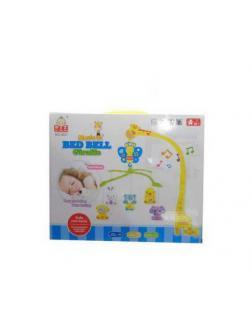 Игрушка для малышей. Мобиль музыкальный для детской кроватки &