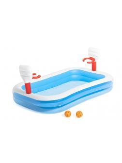 Детский надувной бассейн 254х168х102см