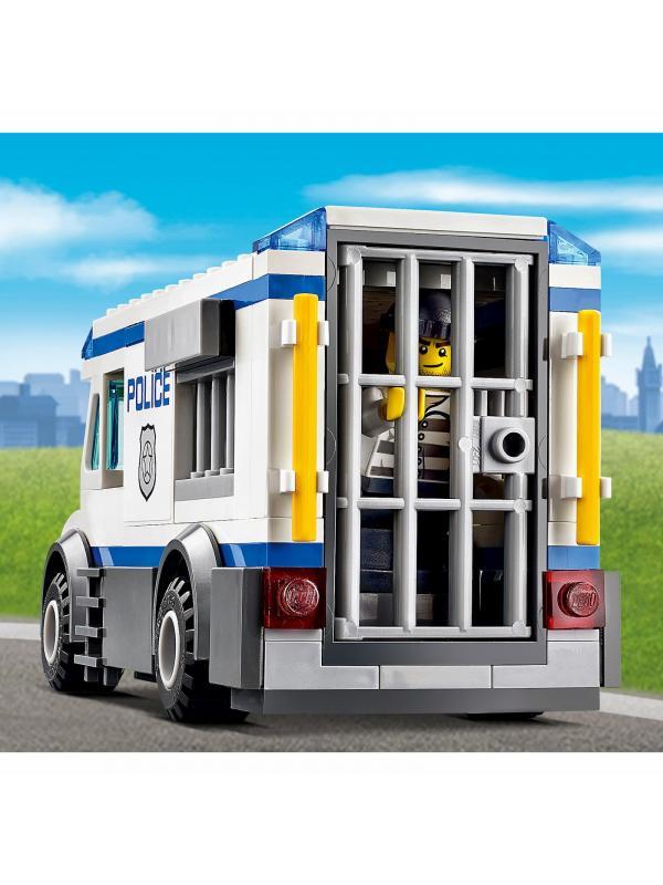 Конструктор «Автомобиль для перевозки заключенных» 10418 (City 60043) / 198 деталей