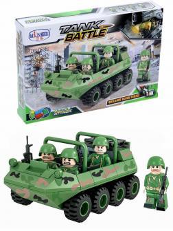 Конструктор Winner «Танковое сражение:  Мини-БТР» 1302А / 139 деталей