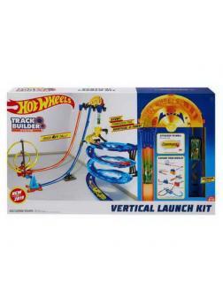 Игровой набор Mattel Hot Wheels Конструктор Трасс Гонки по-вертикали