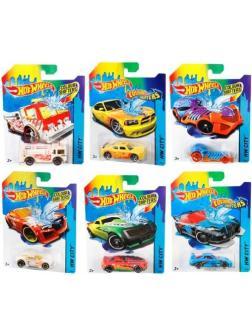 Машинка Mattel Hot Wheels Серия COLOR SHIFTERS