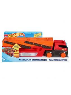 Машинка Mattel Hot Wheels Мега грузовик с хранилищем для машинок