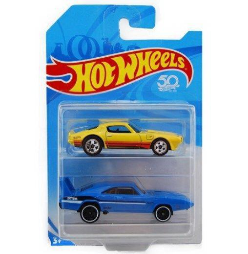 Набор машинок Mattel Hot Wheels упаковка из 2-х штук