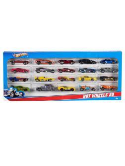 Набор машинок Mattel Hot Wheels Подарочный 20 машинок