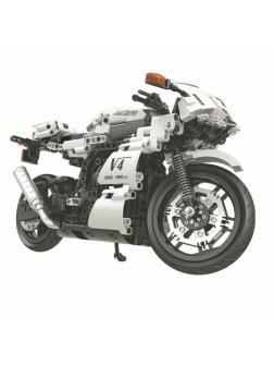 Конструктор Winner «Спортивный мотоцикл V4» 1258 / 716 деталей