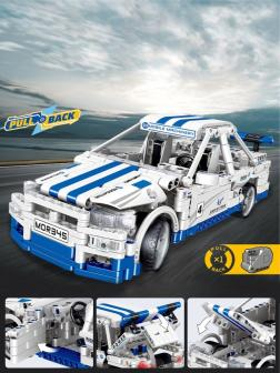 Конструктор Zhe Gao «Спорткар Nissan Skyline R-34» QL0468 / 653 детали
