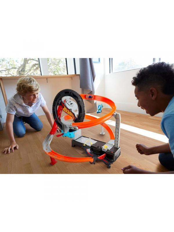 Игровой набор Mattel Hot Wheels Сити Шиномонтажная мастерская