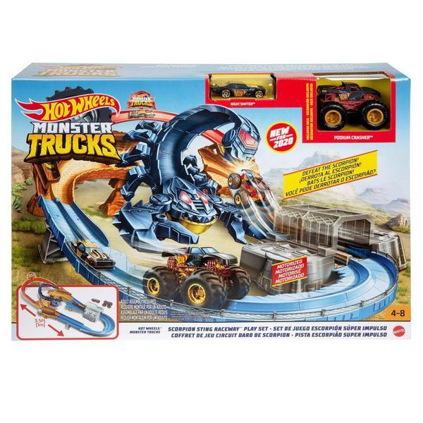 Игровой набор Mattel Hot Wheels Монстр-Трак Гонка со скорпионом