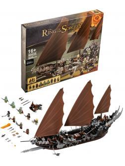 Конструктор «Атака на пиратский корабль» 80035 (Lord of the Rings 79008) 806 деталей