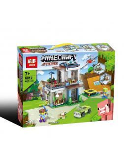 Конструктор Leduo 3в1 «Заправка» 6012 (Minecraft) 467 деталей