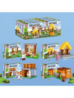 Конструктор PRCK «My World» 63074 (Minecraft) 4 шт.