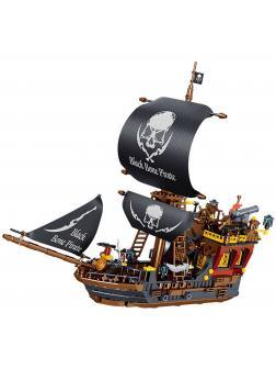 Конструктор Zhe Gao «Пиратский корабль» QL1810 (Pirates of the Caribbean) 704 детали
