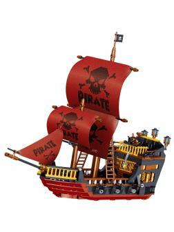 Конструктор Zhe Gao «Пиратский корабль» QL1811 (Pirates of the Caribbean) 723 детали