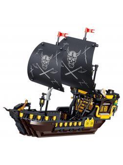 Конструктор Zhe Gao «Пиратский корабль» QL1812 (Pirates of the Caribbean) 693 детали