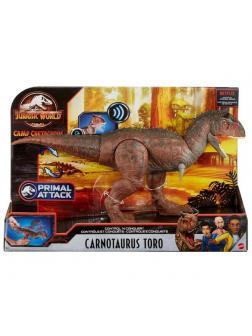 Фигурка Mattel Jurrasic World Динозавр Карнотавтр Торо