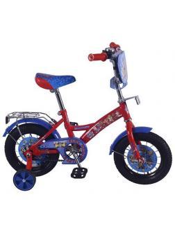 Детский велосипед Щенячий патруль 12 дюймов красно-синий