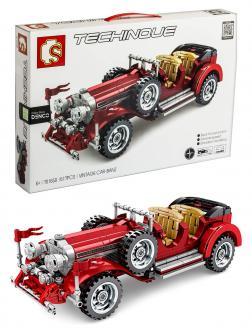Конструктор Sembo Block «Vintage Car Mercedes-Benz» 701650 / 617 деталей
