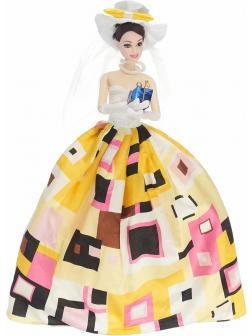Кукла Jiandi в бальном платье c фатой, 29 см / D1202