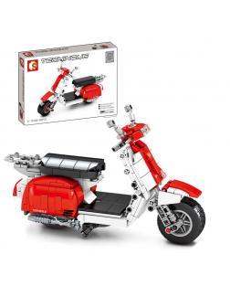 Конструктор Sembo Block «Скутер» 701406 / 455 деталей