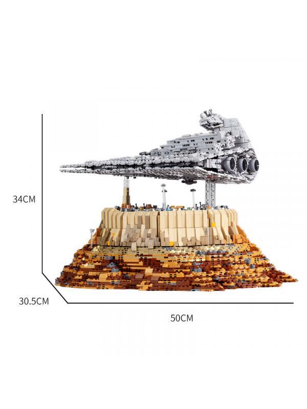 Конструктор Mould King «Имперский звёздный разрушитель над Джеда-Сити» 21007 / 5162 детали