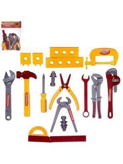 Игровой набор ABtoys Помогаю Папе Инструменты 12 предметов