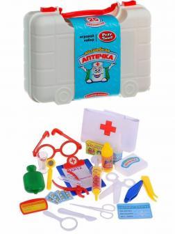 Чемоданчик с набором доктора Play Smart «Волшебная аптечка» 2550 / 25 предметов