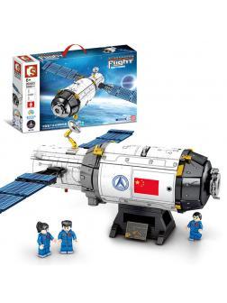 Конструктор Sembo Block «Исследовательская космическая станция» 203303 / 1002 детали