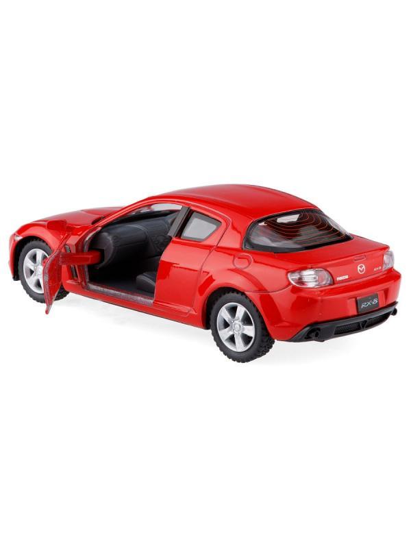 Металлическая машинка Kinsmart 1:36 «Mazda RX-8» KT5071D инерционная / Микс