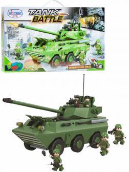 Конструктор Winner «Танковое сражение: Самоходная артустановка PLL05» 1307 / 520 деталей