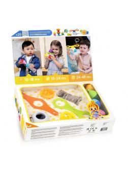 Развивающая игрушка Lalaboom Большой подарочный набор аксессуаров, 25 предметов