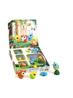 Развивающая игрушка Lalaboom Подарочный набор с бусинами-животными, 25 предметов
