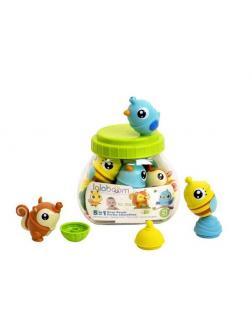 Развивающая игрушка Lalaboom Бусины-животные 21 предмет