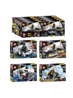 Конструктор PRCK 4 в 1 «Batman» 64093 (Super Heroes) комплект 4 шт.
