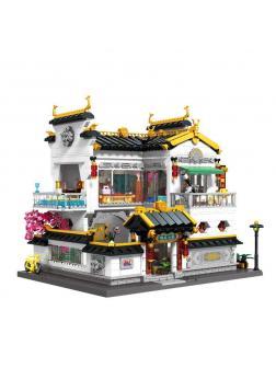Конструктор Keeppley «Китайская улица: мини-отель» К18002 / 2826 деталей