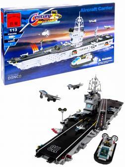 Конструктор Enlighten Brick «Авианосец Aircraft Carrie» 113 / 990 деталей