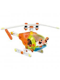 Гибкий конструктор YANG GUANG Build&Play «Собери вертолет» / 109 деталей