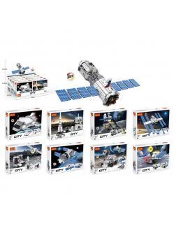 Конструктор Cogo «Космическая станция» 3065 (City) комплект 8 шт.