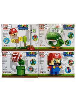 Конструктор PRCK «Super Mario» 69858 / комплект 4 шт.