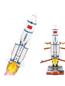 Конструктор Sembo Block «Космический корабль CZ-7» 203015 / 382 детали