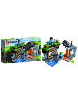 Конструктор «Заброшенная шахта» 11582 (Minecraft 21166) 260 деталей