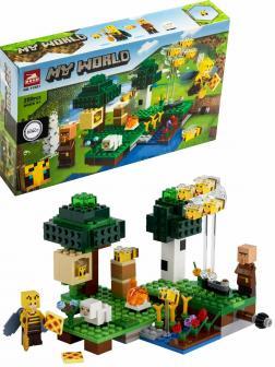 Конструктор Lari «Пасека» 11581 (Minecraft 21165) / 250 деталей