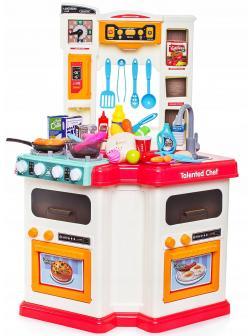 Детская игровая кухня с водой, светом и аксессуарами 922-110 Talented Chef Kitchen / 60 предметов
