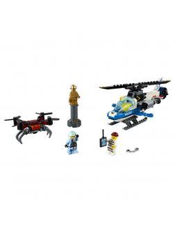 Конструктор LEGO City Police 60207 «Воздушная полиция: погоня дронов» / 192 детали