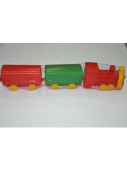 Паровозик (два вагона)